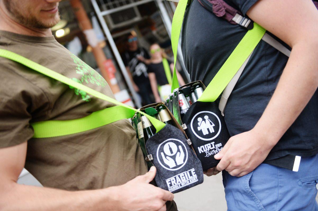 Biergurt Sixpack Tasche Gurt